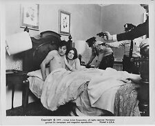 SCORPIO original 1973 lobby bw publicity still photo ALAIN DELON/GAYLE HUNNICUTT