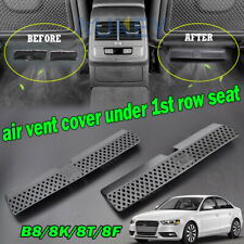 Under Seat Footwell AC Heater Duct Air Vent Cover For AUDI A4 S4 B8 8K A5 S5 8F