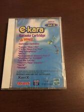 E-Kara Karaoke Cartridge Takara Xavix Vol 4 Cartridge Only Vol 2