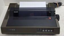 Philips NMS 1431 MSX Printer. Does self-test. MSX 1/MSX 2 Printer. Vintage&Rare