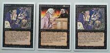 MTG Revised x3 - Darkpact Demonic Attorney UNPLAYED Magic the Gathering