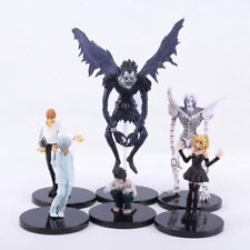 Death Note 6Pcs Figure Set Figurine Light Yagami Ryuk Anime Misa Amane Rem Near