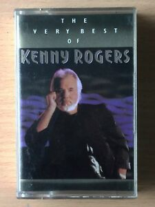 KENNY ROGERS The Very Best Of PHILIPPINES Paper Label Cassette