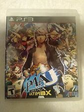 Persona 4 Arena Ultimax Playstation 3 PS3 Complete