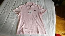 1 NWT ASHWORTH WOMEN'S GOLF POLO SHIRT, SIZE: SMALL, COLOR: PINK PASTEL  *(B23)#