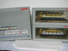 Digital Märklin HO/AC 3667 e Lok Set BR e 15 DB (rg/ck/03-165s1/2)