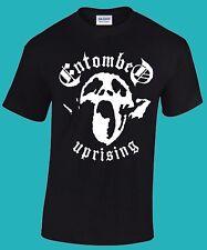 ENTOMBED-Uprising T-shirt  (Slayer, Voivod, Carcass, Obituary, Bolt Thrower)