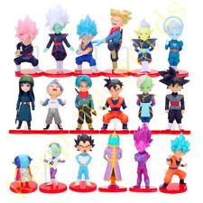 18 Pcs Dragon Ball Z Son Goku Super Saiyan PVC Figure Cake Topper Toy Doll Gift