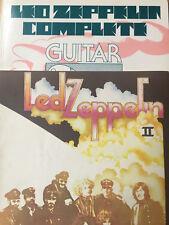 LED ZEPPELIN -- COMPLETE GUITAR *Excellent Condition* PLUS LED ZEPPELIN II
