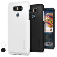 For LG G6 Spigen® [Thin Fit] Ultra Slim Lightweight QNMP Matte Hard Case Cover
