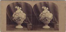 London Stereoscopic Company UK Photo Vase N1 Stereo Vintage Albumine ca 1860