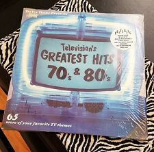 Various – Television's Greatest Hits 70's & 80's 2 LP