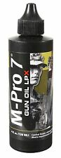 M-Pro 7 Tactical Gun Oil LPX Used By Military - 4 oz Non Toxic No Odor Lubricant