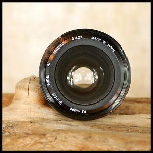 49mm Thread 0.42x Wide Angle + Macro Conversion Lens fits Digital