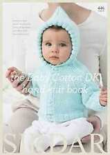 Sirdar Snuggly The Baby Cotton DK hand knit book 446