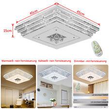 Deckenleuchte Deckenlampe Kristall LED Dimmbar Wohnzimmer Hängelampe Wandlampe
