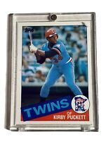 1985 TOPPS #536 KIRBY PUCKETT ROOKIE CARD RC MINNESOTA TWINS HOF 1/1 Exclusive!