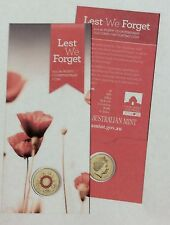 Special 'Poppy Mintmark' Low Mintage Uncirculated 2015 Red Anzac $2 Coin