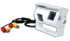 Twin White Rear View or Reversing Camera with night vision for Motorhomes