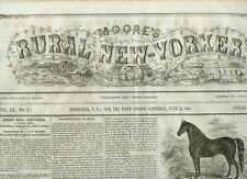 Newspaper Civil War  Secession Congress Symbol Adopted At Montgomery LOOK! 1861