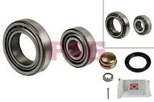Wheel Bearing Kit fits VOLKSWAGEN POLO Rear 75 to 02 FAG 191598625 311405625B
