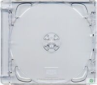 10 x CD Super Jewel Box 10.4mm Single 1 Disc Super Clear Tray Replacement Case