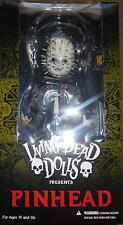 Mezco Living Dead Doll Hellraiser III Hell on Earth - PINHEAD figure MIB in Hand