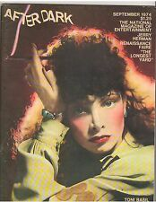 AFTER DARK entertainment magazine/TONI BASIL/Jerry Herman/The Longest Yard 9-74