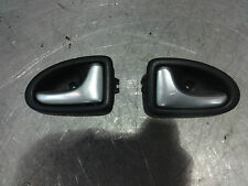 Renault Clio 172 182 Sport 2000-2005 Interior Door Handles Silver Good Condition