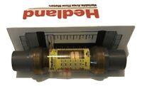 "Hedland EZ-View Flowmeter With Sensor 5-50 GPM 2"" Socket Weld"