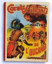COEURS VAILLANTS Album 18 - n°35 à 52 de 1954 - Très bel état