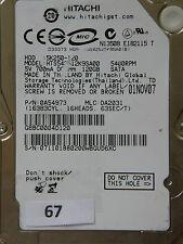 120 gb Hitachi hts542512k9sa00/0a54973/da2031/nov07/0a53120 da1684c