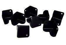 "Black Speaker Box Metal Corner Pieces 8 Pack 1.5 x 1.5""  Car  Home and DJ"