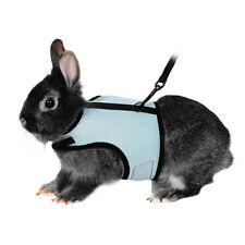 Soft Harness + Lead Rats Guinea Pig Rabbit Bunny Small Animals Harness Sky Blue