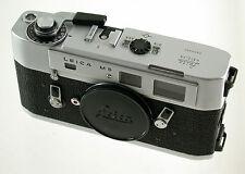 LEICA M5 M-5 chrom chrome body Gehäuse rangefinder classic premium