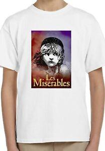 Victor Hugo Les Misérables Book Art Kids Unisex Top Birthday Gift T-Shirt 64