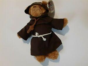 HOLY LAND Experience Gund Teddy Bear Monk scribe priest Plush souvenir