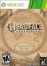 NEW!!! Deadfall Adventures -- Collector's Edition (Microsoft Xbox 360, 2013)