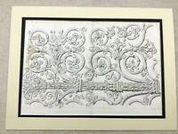 1857 Print Notre Dame Cathedral Paris Rare Antique Engraving Architectural LARGE