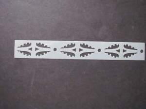 Mini Morrocan Border Mylar Stencil Art Airbrush reusable Durable Paint L298**