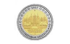 DUITSLAND SPECIALE 2 EURO 2007: SCHLOSS SCHWERIN (WILLEKEURIGE LETTER)