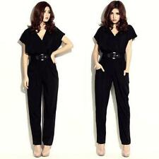Machine Washable Solid Petite Jumpsuits, Rompers & Playsuits for Women