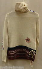 Alp n Rock Womens Winter Storm Cowl Neck Sweater LSP02 Winterstorm Size Large