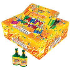 72pc Party Poppers for New Years, Birthday Parties