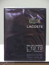Eau de Lacoste L12.12 Noir by Lacoste for Men 5.9 oz EDT Spray **NIB & SEALED
