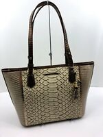 Brahmin Medium Asher Satchel Embossed Ray Artemisa Leather Purse NWT Free Ship