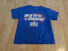 """Youth Chicago Cubs M T-Shirt Tee """"2016 World Series Champions"""""""