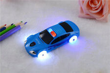 Blue Small Mini Police Car Style Mobile Cell Phone With Flashlight Kid Gift