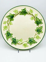 Antique Ivy American Franciscan Ware Dinner Plate. 1939-1949. CA. Faint Crack.