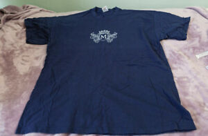 Morrissey Tour T shirt Navy M logo from Ringleader tour Extra Large